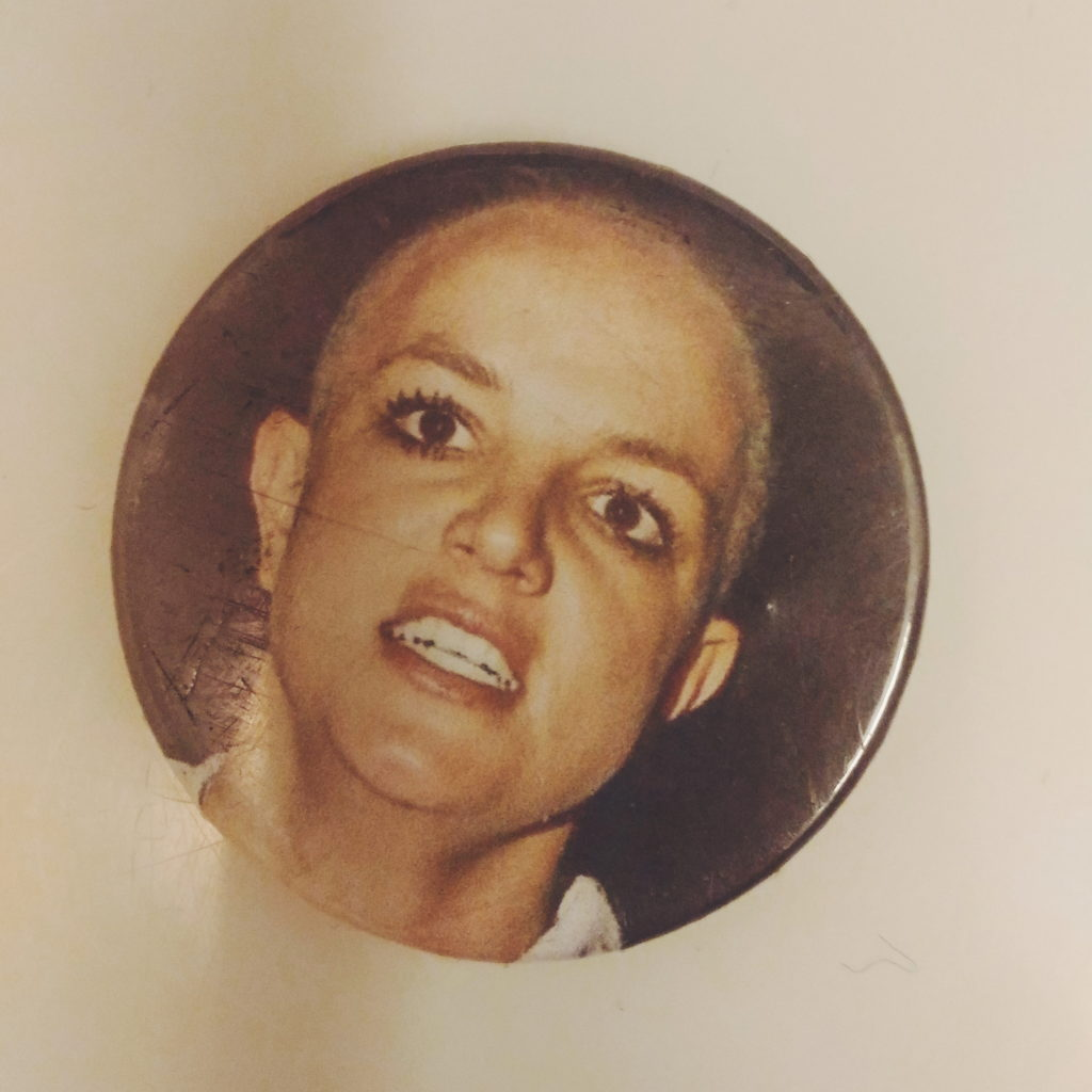 Crazy britney spears pin